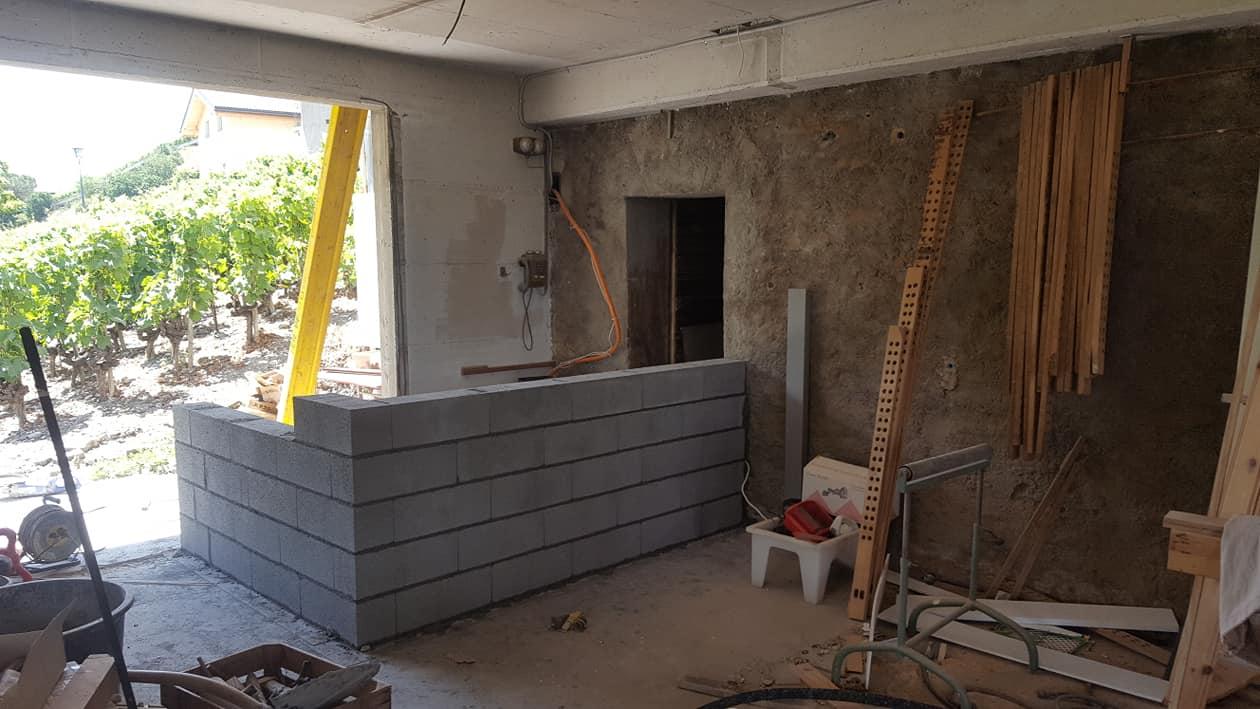 Rénovation d'une habitation à Sierre