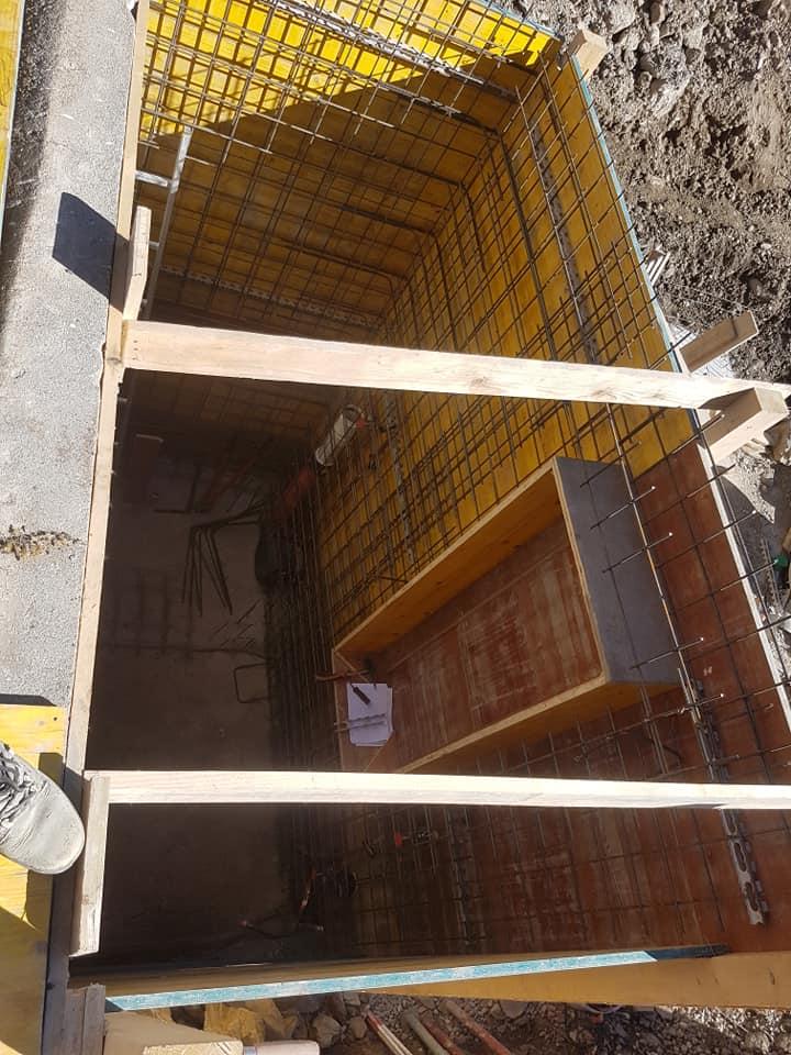 Réfection d'un collecteur d'eau pour la commune de Leytron
